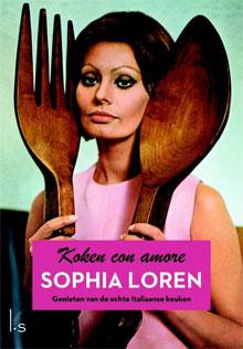 Italië Eten en Drinken Kookboek Sophia Loren Koken Con Amore