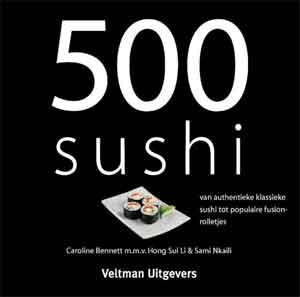 Kookboek 500 Sushi