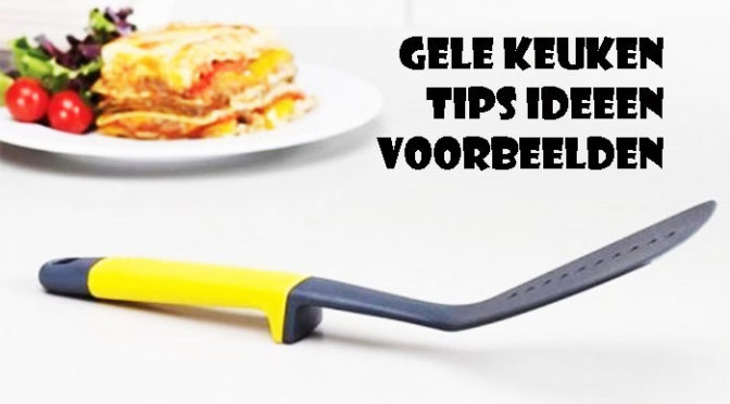 Gele Keuken Inrichten Tips Ideeën Voorbeelden