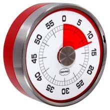 Rode Magnetische Kookwekker Cabanez