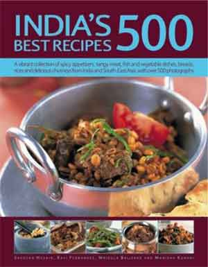 India's 500 Best Recipes Indiaas Kookboek