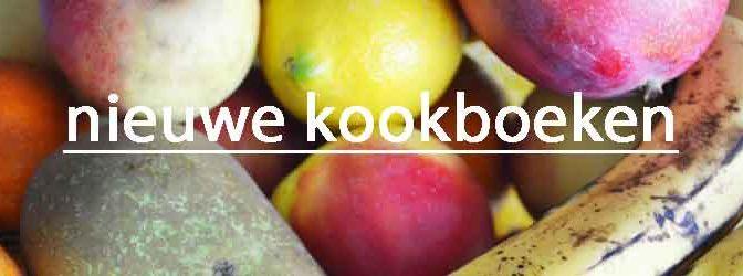 Nieuwe Kookboeken 2018