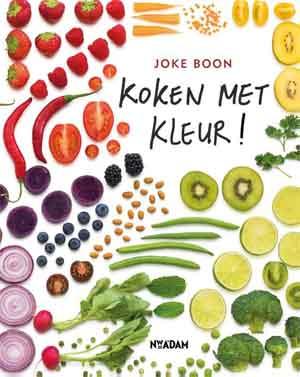 Kookboek Joke Boon Koken met kleur